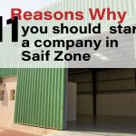 11 Reasons Why you should  start a company in the Saif Zone